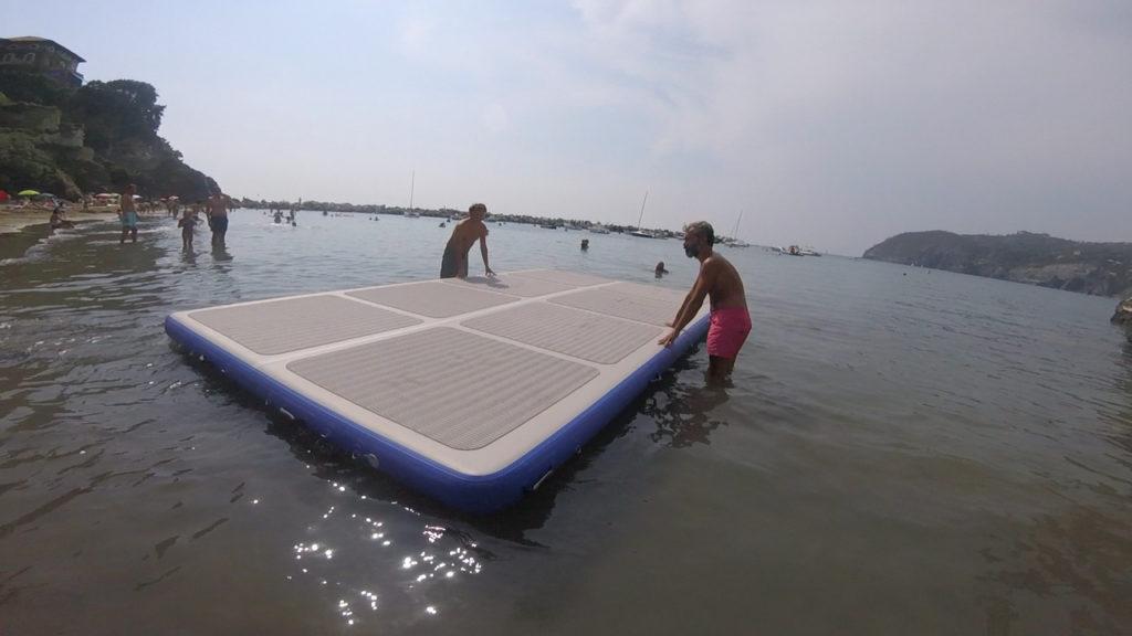 Inflatable platform Pad